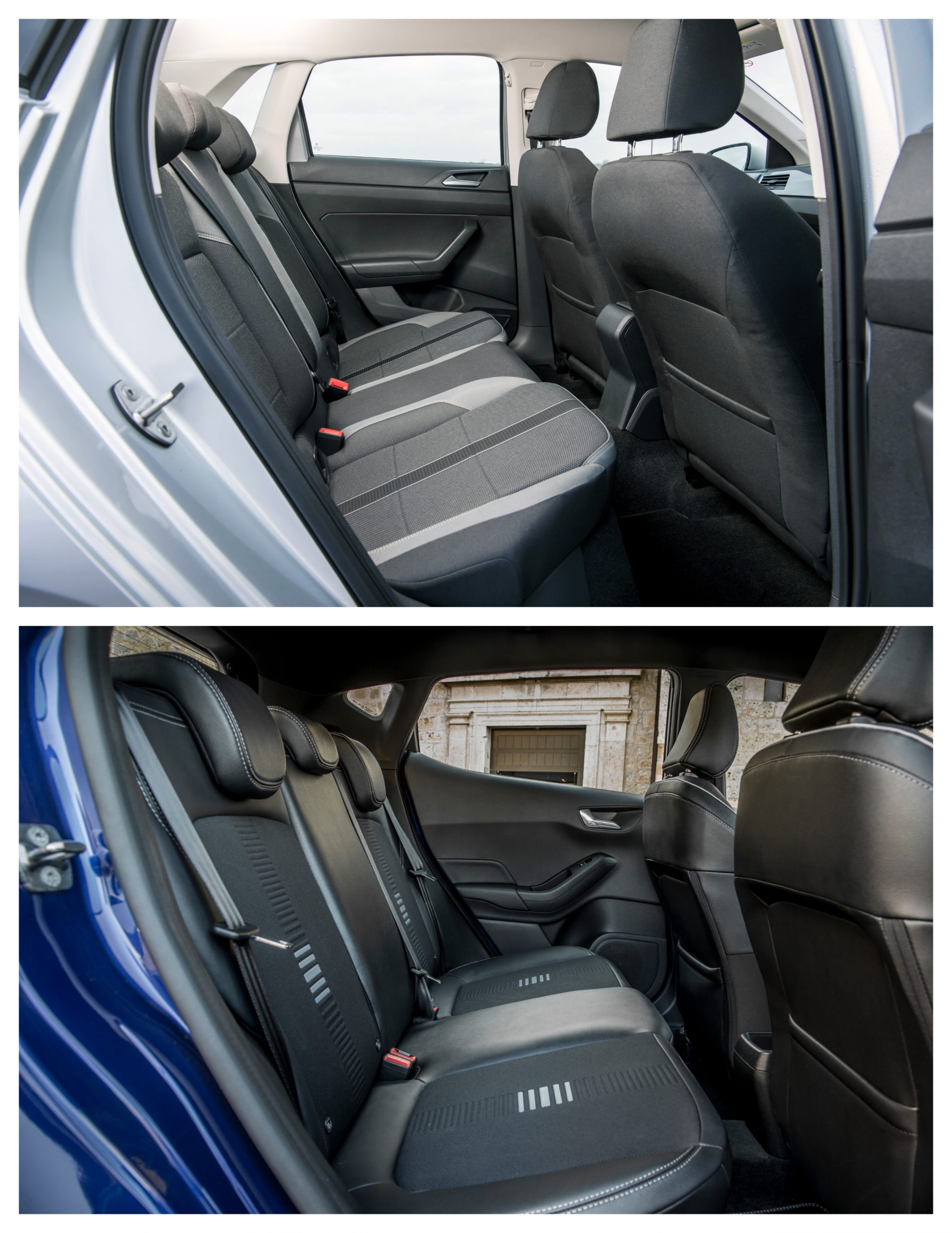 Polo Vs Fiesta - interior space