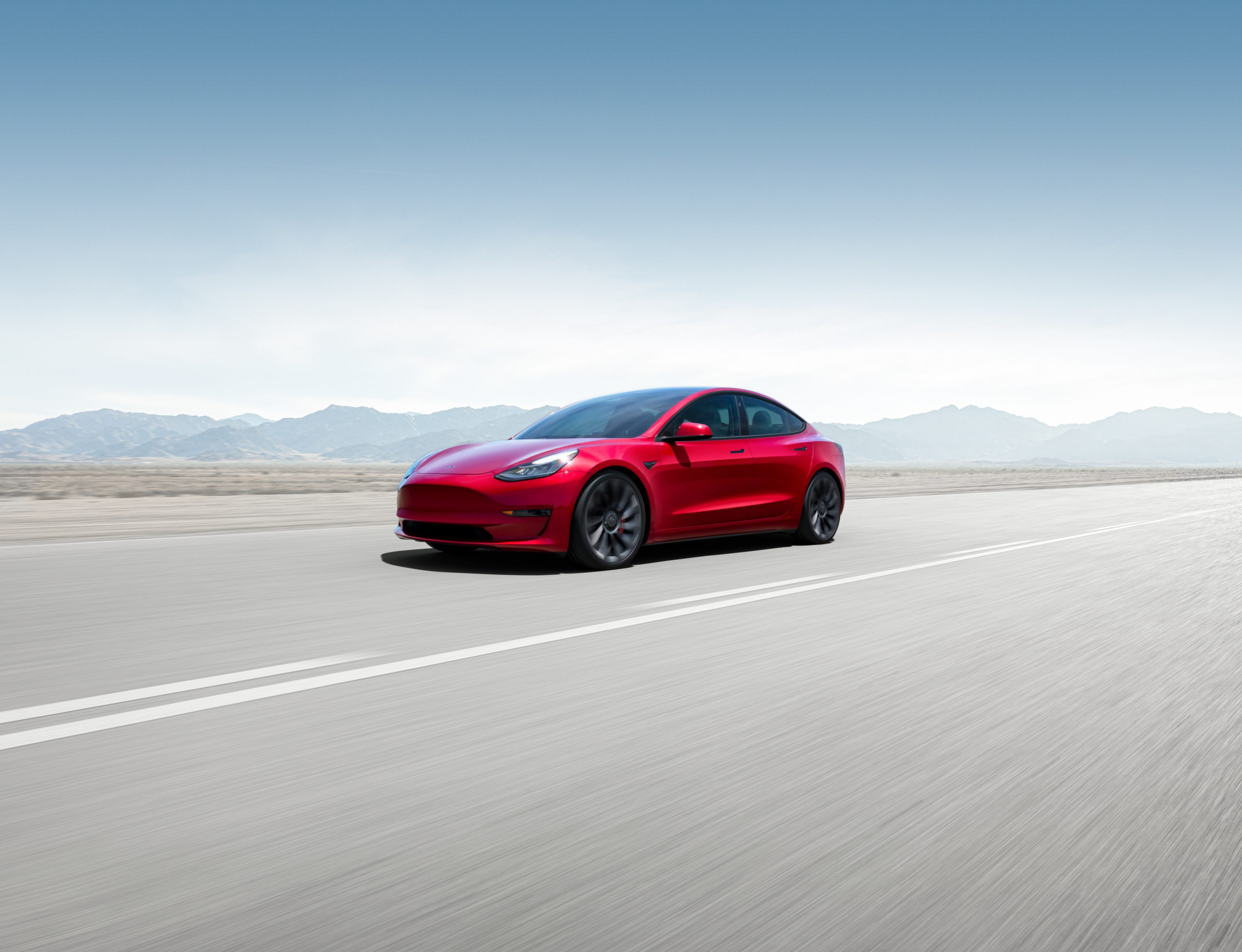 Our best electric cars - Tesla Model 3