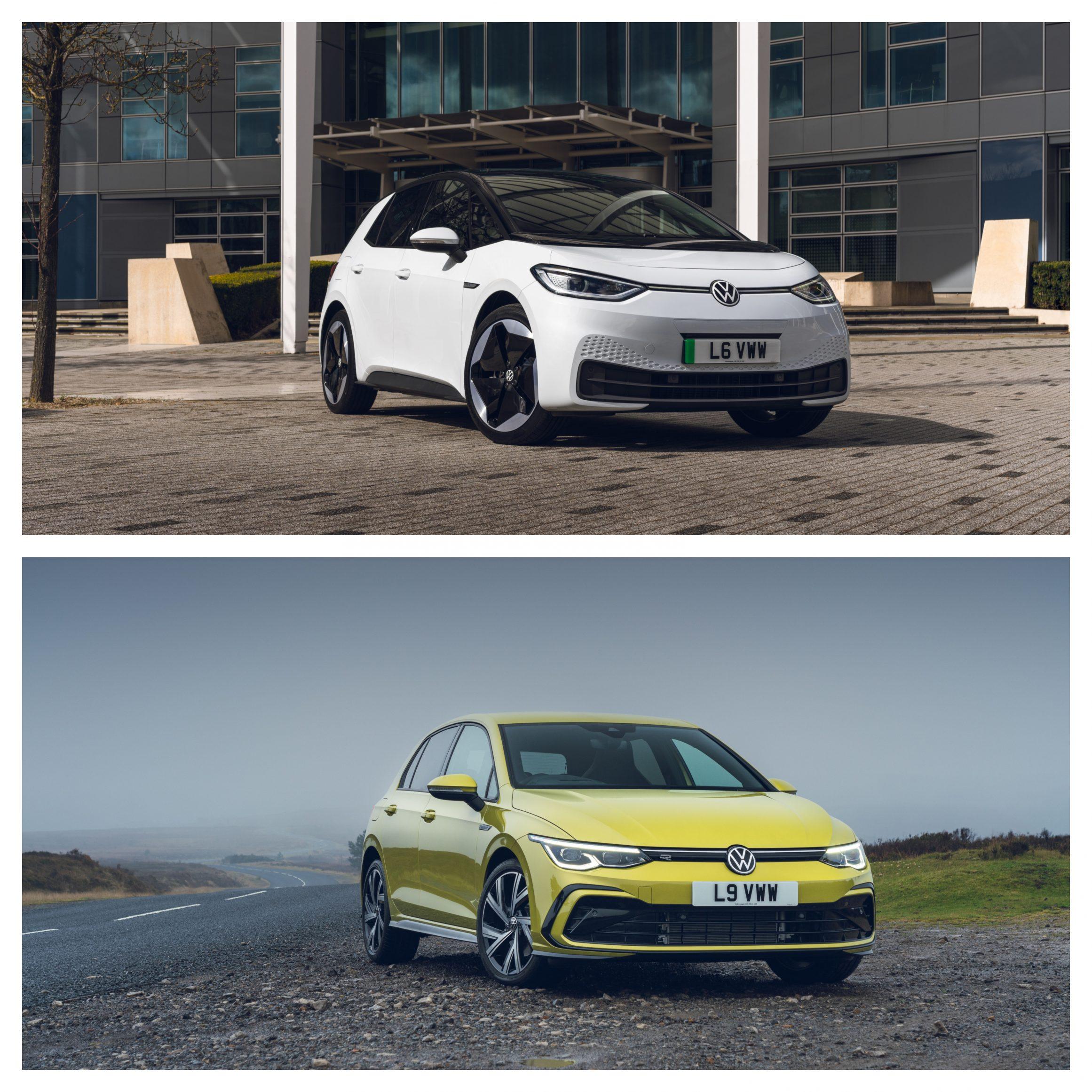 Volkswagen ID.3 Vs Volkswagen Golf - design